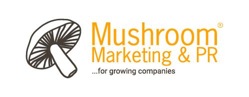 Mushroom Marketing & PR logo