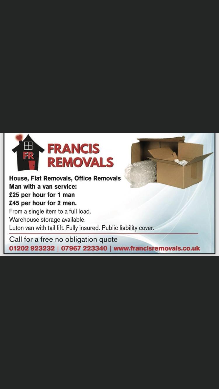 Francis Removals logo