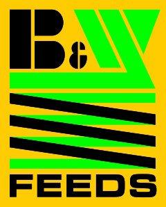 B & W Feeds logo