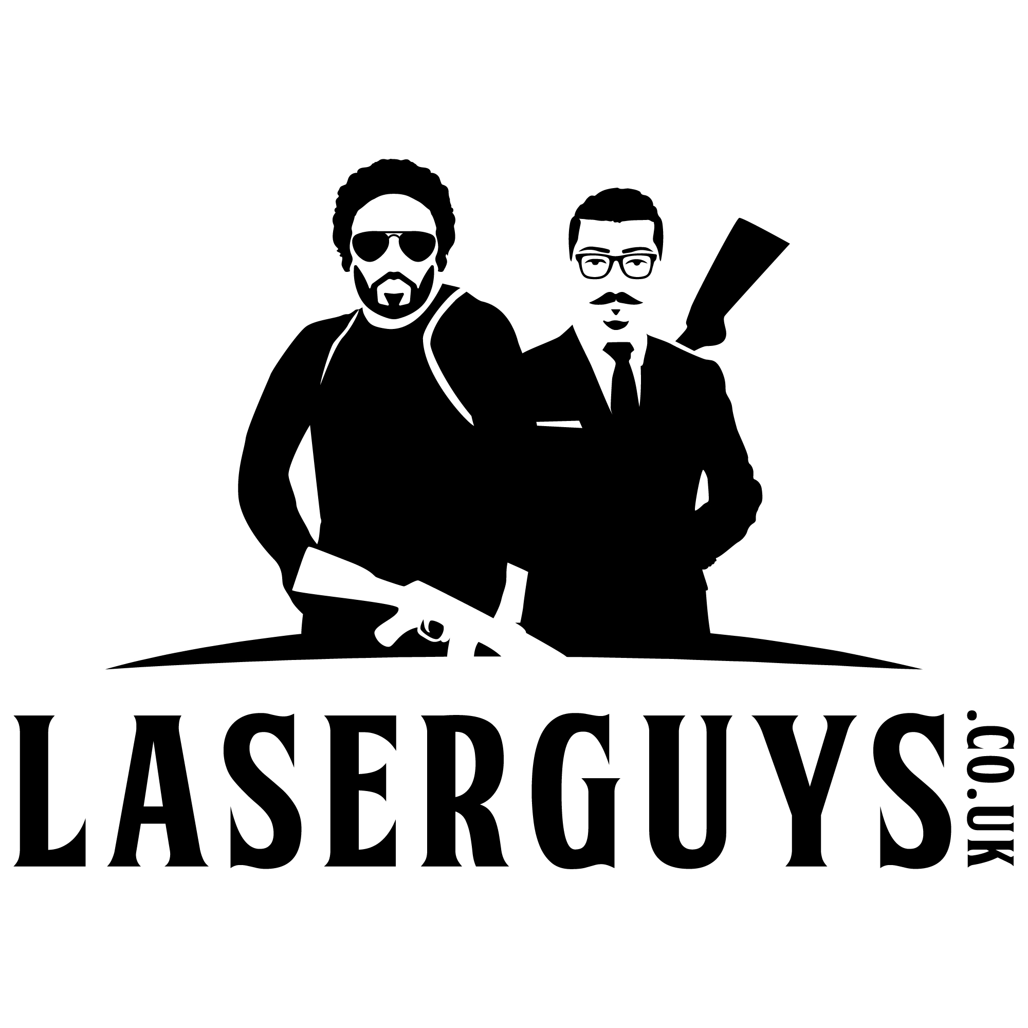 Laserguys Laser Tag logo