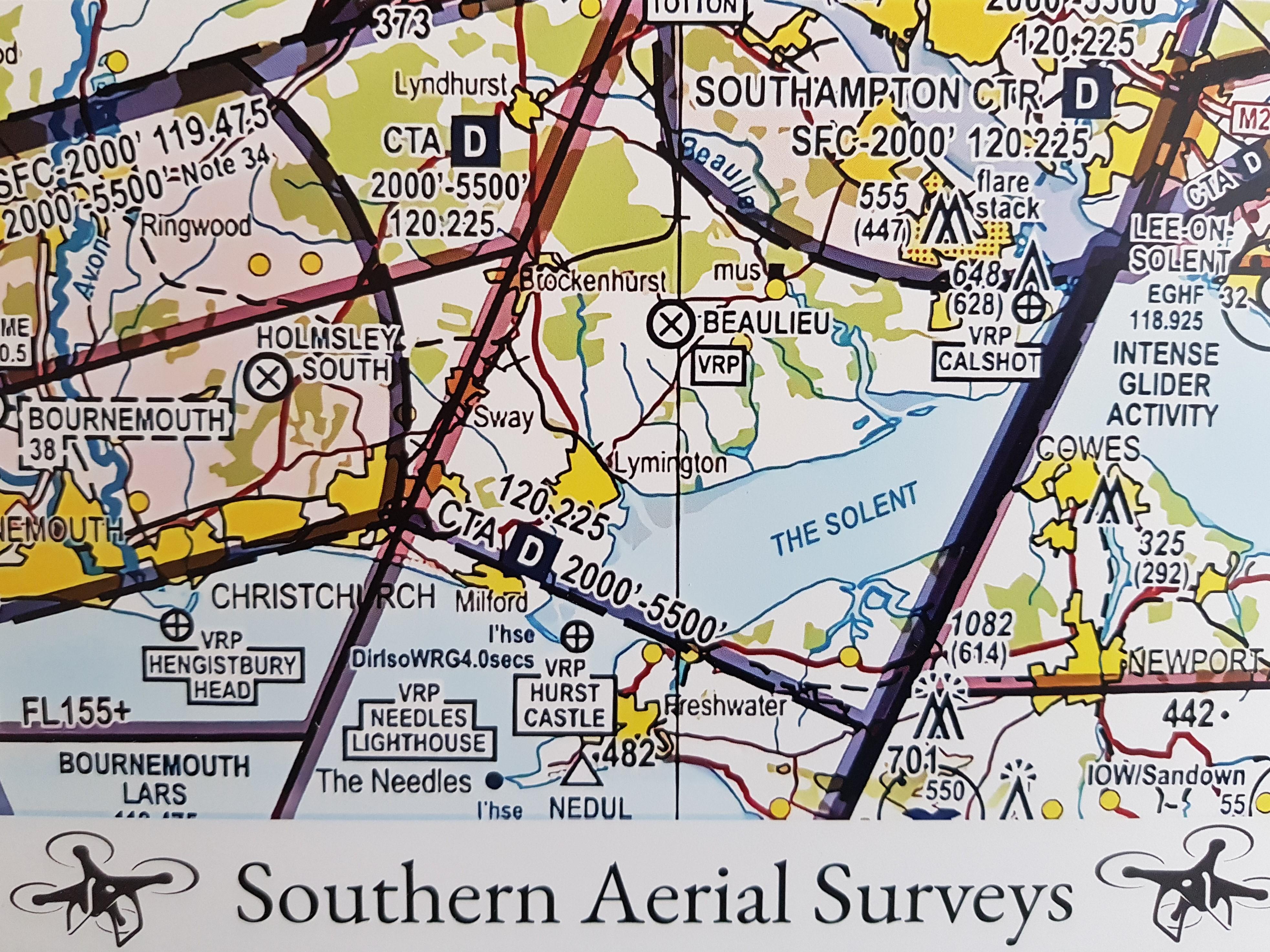 Southern Aerial Surveys logo